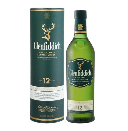 Glenfiddich 12yr Scotch Whisky