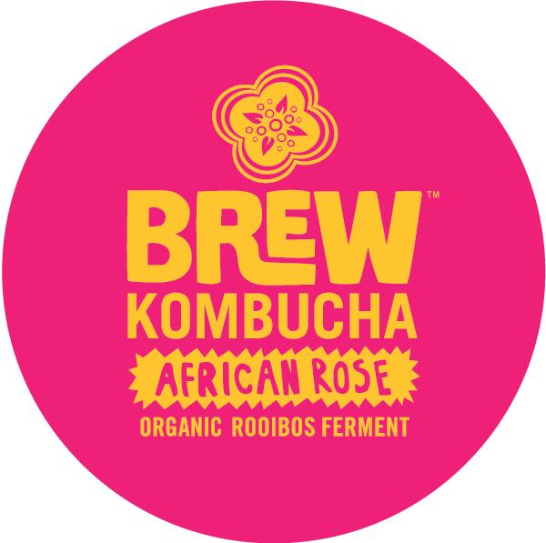 Brew Kombucha African Rose